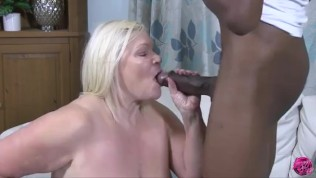 LACEYSTARR – Hot Granny Analised By BBC