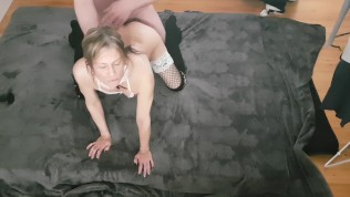 She wanted me to cum on her face, but I wanted to cum in her ass!